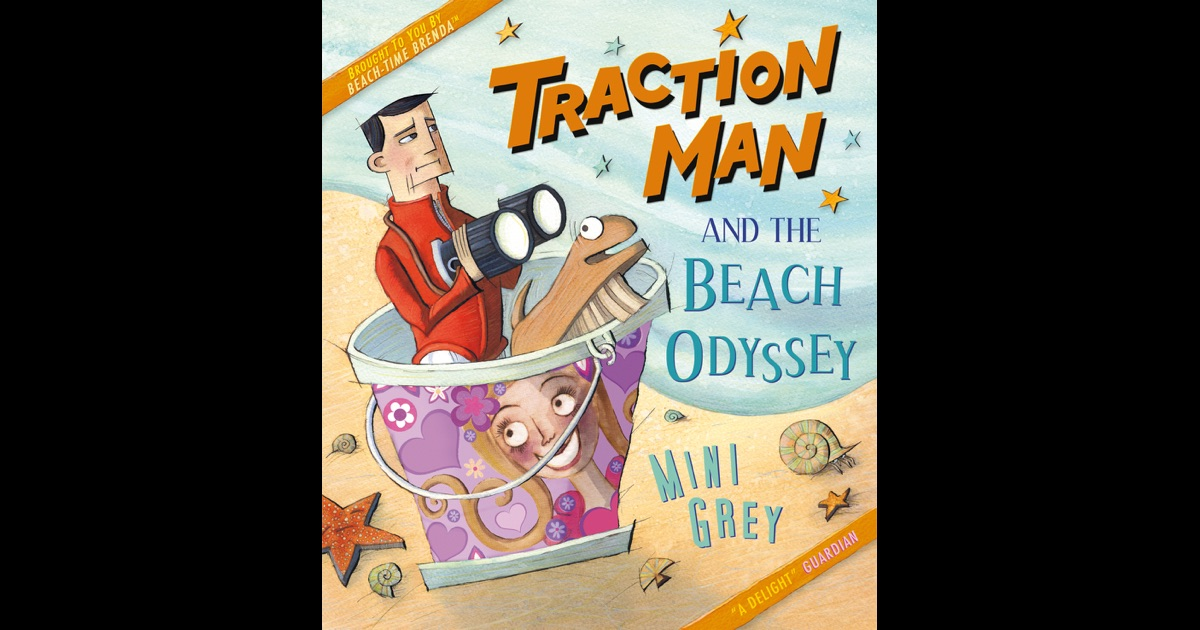 Traction Man And The Beach Odyssey Enhanced Edition By