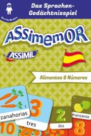 ASSIMEMOR - MEINE ERSTEN WöRTER AUF SPANISCH: ALIMENTOS Y NúMEROS