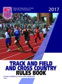 2017 NFHS Track and Field and Cross Country Rules Book - NFHS & Becky Oakes Cover Art