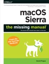 MacOS Sierra The Missing Manual
