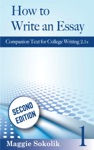 How To Write An Essay Workbook 1