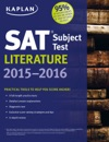 Kaplan SAT Subject Test Literature 2015-2016