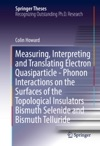 Measuring Interpreting And Translating Electron Quasiparticle - Phonon Interactions On The Surfaces Of The Topological Insulators Bismuth Selenide And Bismuth Telluride