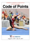 Womens Artistic Gymnastics Junior Olympic Code Of Points