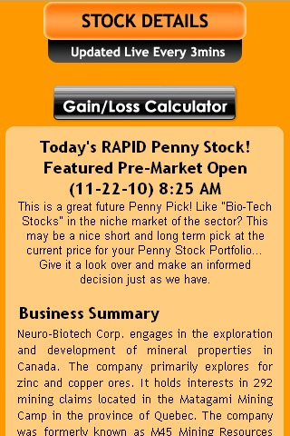 Rapid Penny Stock Chaser By Mwd Web Design Inc
