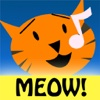 Cat Chorus - 13 cartoon cats sing & record your kitty tunes!