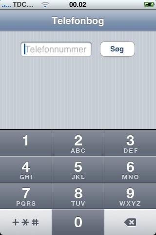 danske telefonnumre