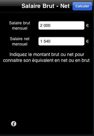 Salaire Net By David Lioret