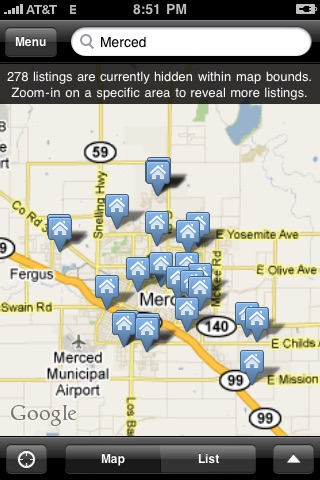 Merced County Real Estate screenshot 1