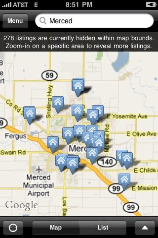 Merced County Real Estate screenshot 1