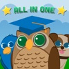 Funny Animals All in One for baby and preschool toddler - Play and learn