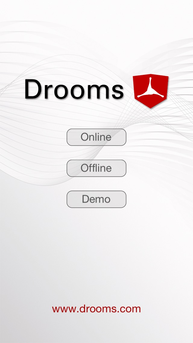 Screenshot von Drooms® für iPad und iPhone1