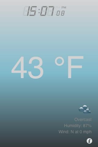 Воздух термометр + превращает Ваш телефон в термометреСкриншоты 2