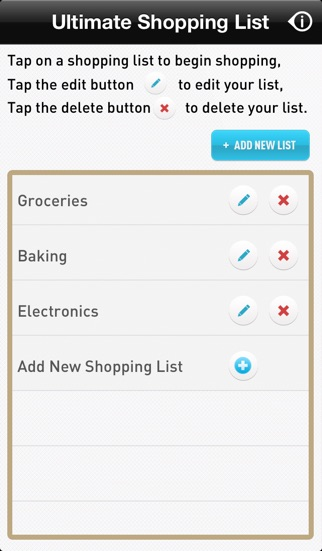 Ultimate Shopping List on the App Store
