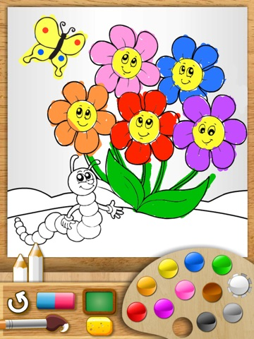 Abby Monkey® - Painter Star: Draw and Color - My First Coloring Book screenshot 4
