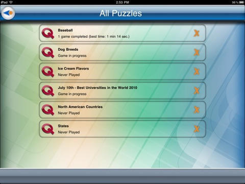 Quizard Word Search screenshot 4
