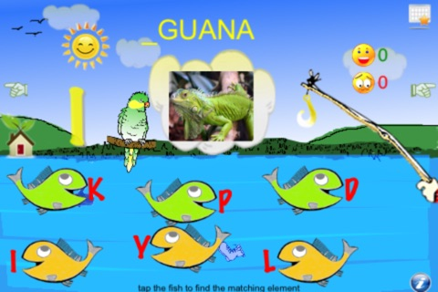 Fishing Toddler Lite (4 learning games in 1) screenshot 2