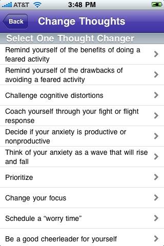 iCounselor: AnxietyScreenshot of 4
