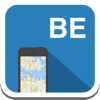 Belgium & Brussels offline map, guide, weather, hotels. Free GPS navigation.