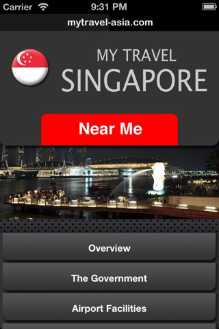 MyTravel Singapore screenshot 1