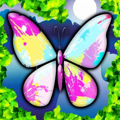 Colorazione farfalla pagine da colorare per ragazze - Dipingere pagine da stampare ...