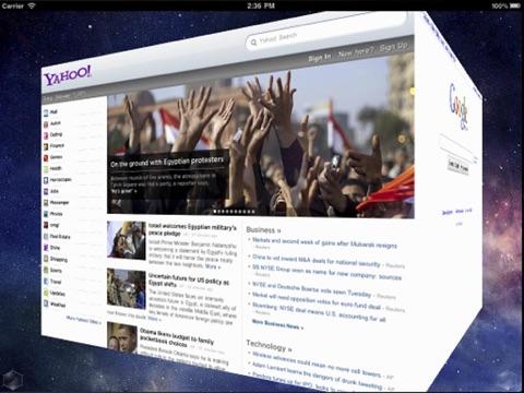 3D Web Browser Free Screenshot