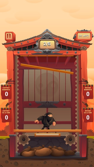 Fraction Ninja Screenshot