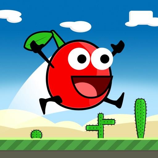 Cherry Triple Jump & Run - Really Hard and Addicting One Touch Platformer iOS App