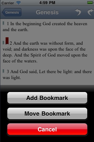 Holy Bible ✝ screenshot 2