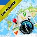 乌克兰 - 离线地图和GPS导航仪 icon
