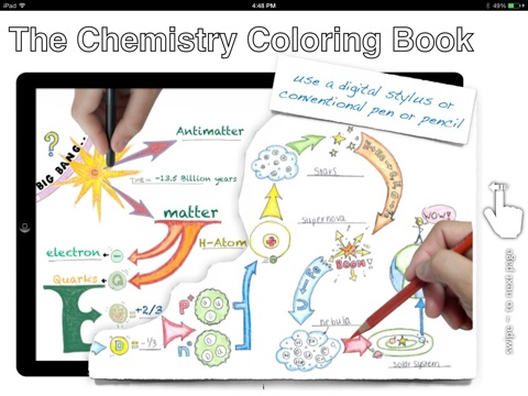 Chemistry Coloring Book by Eric Prescott Nash on iBooks