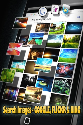 Cool Retina Wallpapers Pro for iPhone 5 screenshot 2