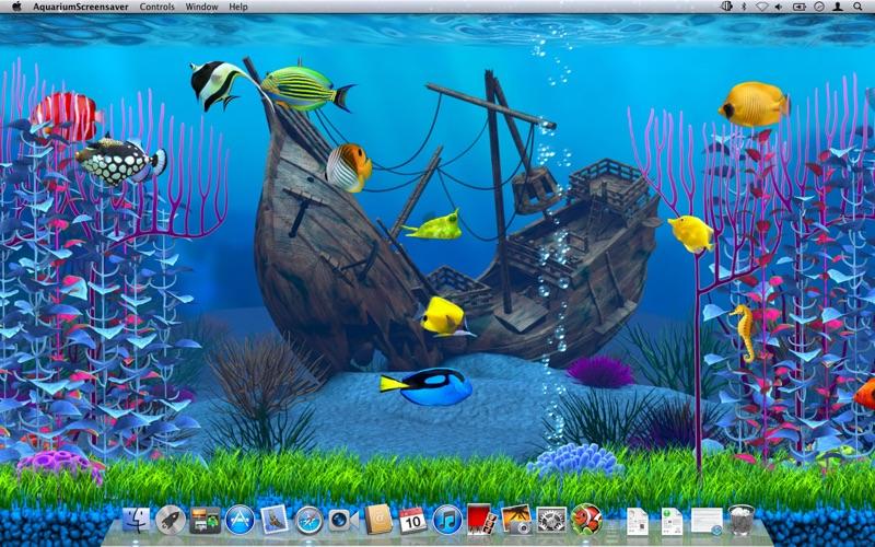 aquarium screensaver app download