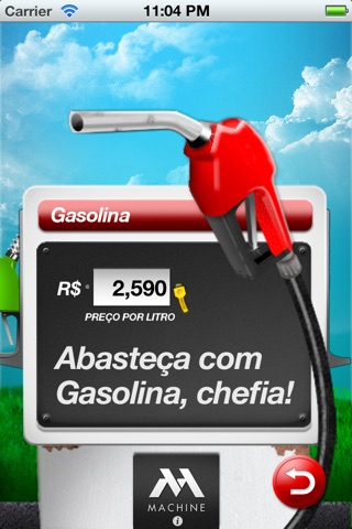 Alcool ou Gasolina, Chefia? screenshot 3