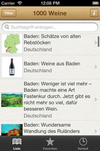 1000 Weine aus aller Welt screenshot 1