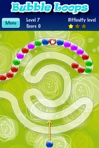 Bubble Loops screenshot 1