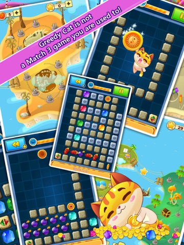 Greedy Cat Adventures App Voor Iphone Ipad En Ipod