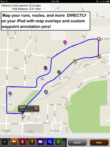Map Draw - Route tracking and Annotation (Elite) screenshot 1