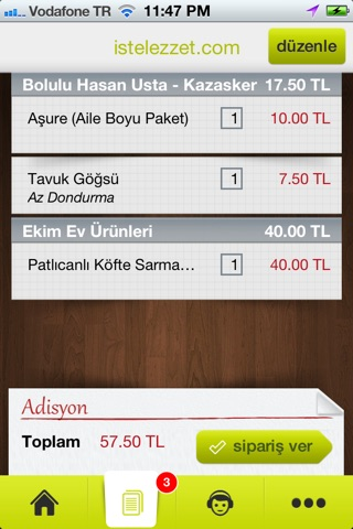 İşte Lezzet screenshot 3