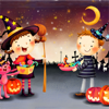 Halloween para crianças ! jogo educativo - jogos para crianças - app para as meninas