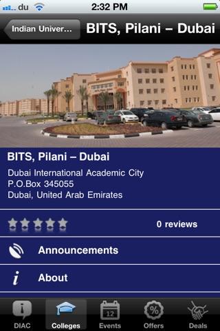 DIAC Student Hub screenshot 4