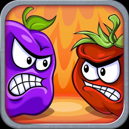 水果大战蔬菜:Fruit vs Veg【物理投掷】