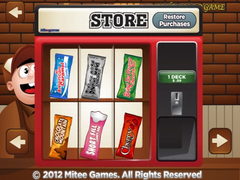 Screenshot #5 for short fill candy card game