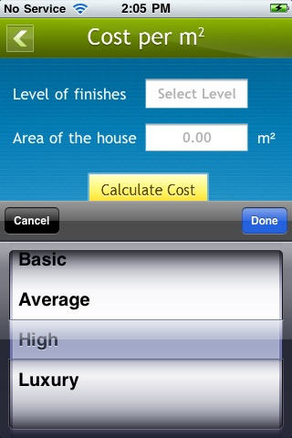 Building Cost Calculator Residential App Insight