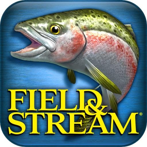 田野和溪流钓鱼