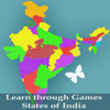 Learn through Games - States of India