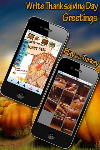 Thanksgiving HD Wallpapers for iPhone5S/iPhone5C/iPad screenshot 2