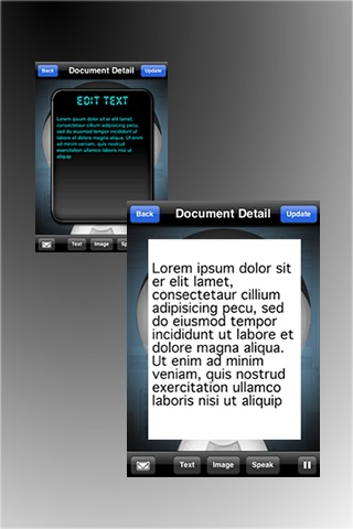 Image to Speech (OCR application) screenshot 3