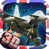 UK Jet Warrior Nation : Mid Air Furious 3D Dog-fights Drift attack