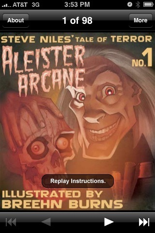 Aleister Arcane Issue 1 screenshot 1
